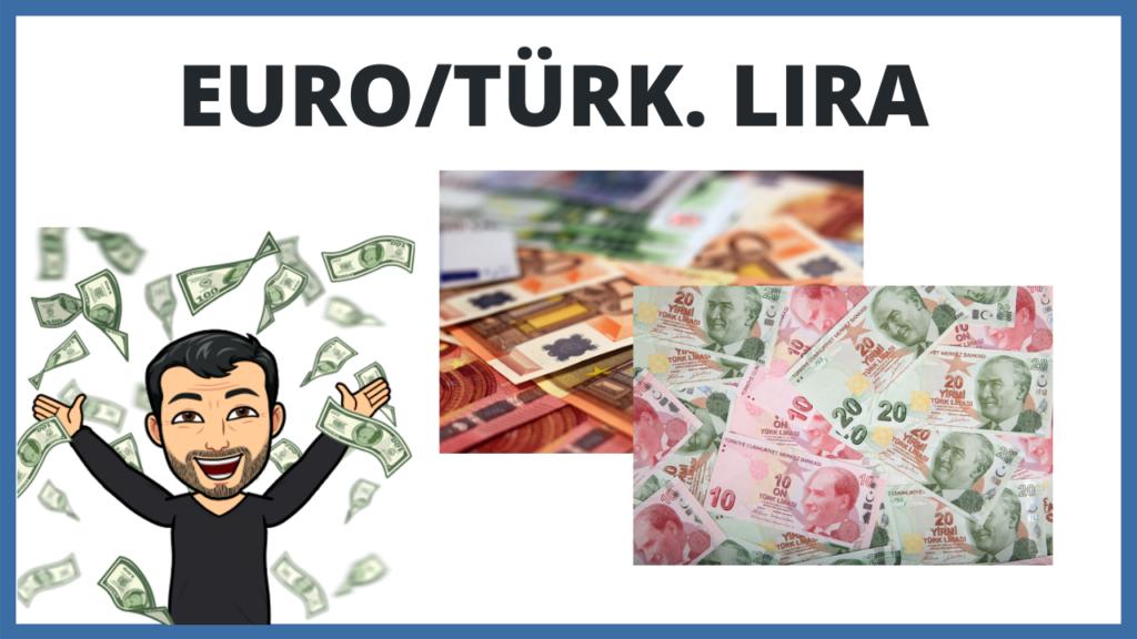 Bild Euro türkische Lira